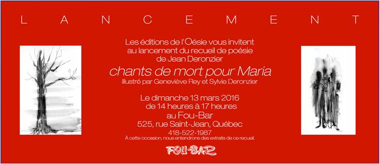 La Revue Poésie De Québec Page Daccueil